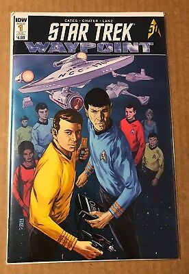 Vault 35 Waypoint #4 Cover B NM IDW Publishing Comic Star Trek
