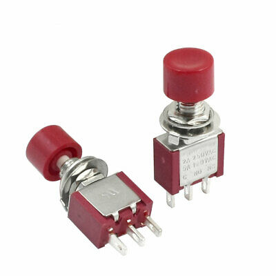 4Pcs AC 250V 2A 120V 5A 6 Pin Terminals ON//Off//ON DPDT Toggle Switches P4Z1