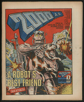 2000 Ad 19. Early Judge Dredd. Original Owner Collection
