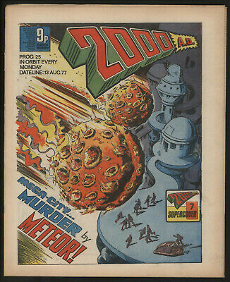 2000 Ad 25. Early Judge Dredd. Original Owner Collection