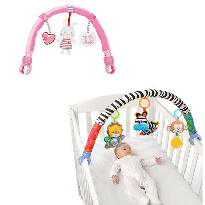 Baby Stroller/Bed/Crib Hanging Toys For Tots Cots Rattles Seat Cute Plush S I0T3