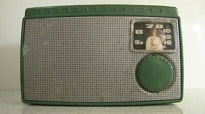 Vintage Sony Tr 55 Tr-55 Transistor Radio  First Sony Product & Radio