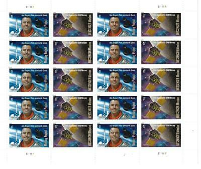 Us Scott 4527 - 28 Pane Of 20 Mercury Project Stamps Forever Mnh