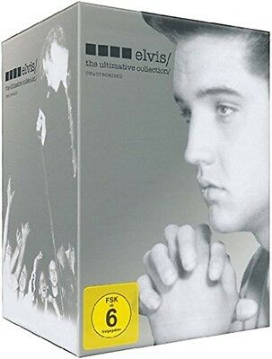 Elvis - The Ultimate Collection Memphis Hollywood Army Years 8 Caja de DVD