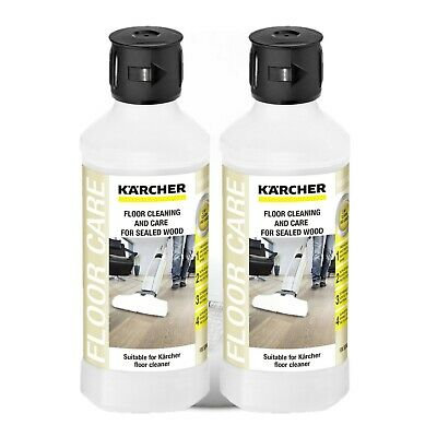 Karcher RM534 FC5 Sealed Wood Floor Cleaning Detergent 6.295-941.0  X 2-500ml