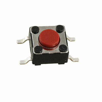 10 Pcs Momentary Tact Tactile Push Button Switch SMD SMT PCB 4 Pin 6 x 6 x 4.3mm