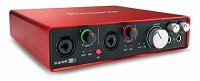 Focusrite Scarlett 6i6 2nd Gen USB Audio Interface +Pro Tools First FREE2DAY NEW