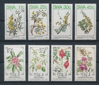 LJ90403 South West Africa plants flora nature farm animals fine lot MNH