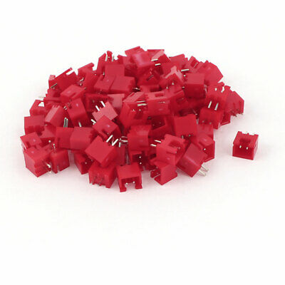 100Pcs 2.54mm 2-Terminal Single Row Straight DIP Female Header Strip