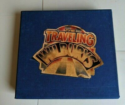 The traveling wilburys cd Box Set with booklet and postcards very good condition