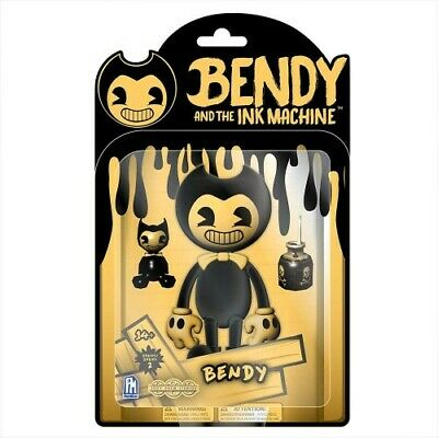 Bendy And The Ink Machine Action Figure Series 2 - Yellow Bendy - Brand New!