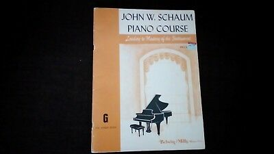 John W. Schaum Piano Course G - the amber book