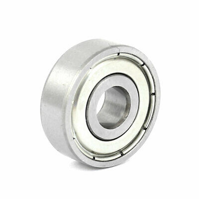 Brack Silver 6202-2RS Shielded 15mm x 35mm x 11mm Deep Groove Ball Bearing DT