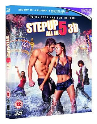Step Up 5 - All In (3D + 2D Blu-ray, 2 Discs, Region Free) *BRAND NEW/SEALED*