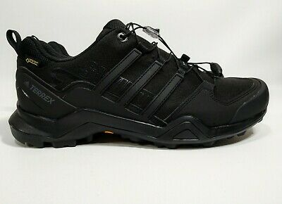 85138ad50e571 New Adidas Mens Terrex Swift R2 GTX Hiking Shoes Gore-Tex Black Size 10.5  CM7492