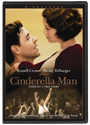 CROWE,RUSSELL-Cinderella Man DVD NEW