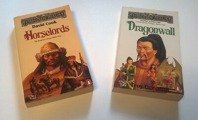 2 x EMPIRES Trilogy Books by DAVID COOK & TROY DENNING Forgotten Realms TSR