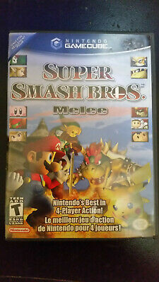 Super Smash Bros. Melee (Nintendo GameCube, 2001) Complete. Tested and working.
