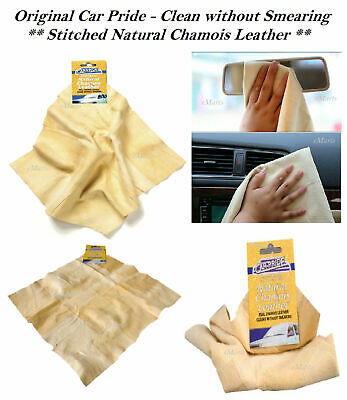 New Natural Genuine Real Leather Chamois