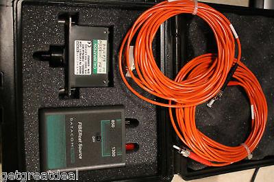Datacom Textron FIBERcat Optical Loss Measurement Set