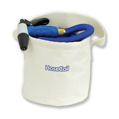 Hosecoil Canvas Bucket F/75' Expandable Hose Kit Hb150
