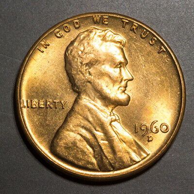 🔥 1960-D Lincoln Memorial Cent - BEAUTIFUL FULLY STRUCK EXAMPLE