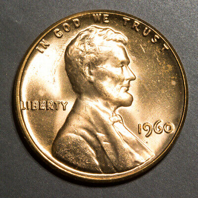 🔥 1960 Lincoln Memorial Cent - BEAUTIFUL FULLY STRUCK EXAMPLE