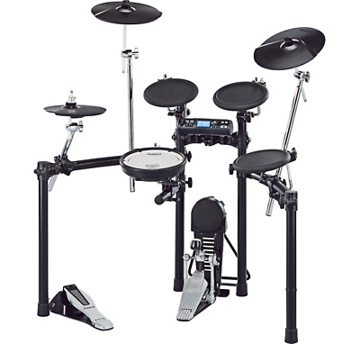 Roland TD4-S TD-4K V-Compact Electronic Drum Kit with MDS-9 Stand and Hardware