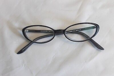 ce58e3f4146e MICRO BLUE PLASTIC Eyeglasses Frames Made in Japan 49 140 - $7.75 ...