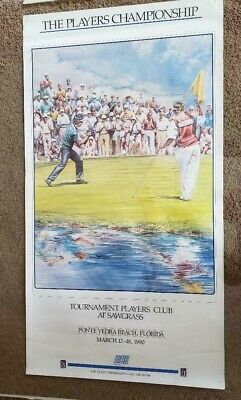 "Poster Print Wall Art TPC Tournament at Sawgrass, Ponte Vedra Beach 199017""x33"""