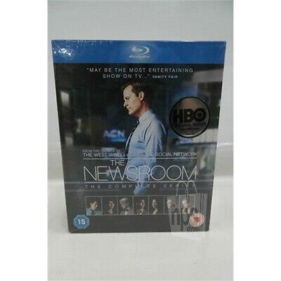 HBO The Newsroom -Complete Series 9 Disc Blu-Ray Set Region Free