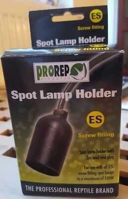 ProRep Spot Light Holder With Screw Fitting For Reptiles