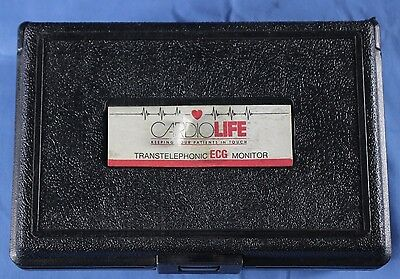 Cardiolife Transtelephonic ECG Monitor Recorder -- Warranty