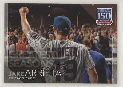 2019 Topps 150 Years of Professional Baseball #150-103 Jake Arrieta Chicago Cubs