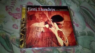 Jimi Hendrix Live At Woodstock 1999 Remastered 2 Cd Set Mint