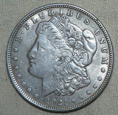 1921 90% Silver Morgan Dollar