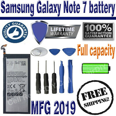 New Replacement Samsung Galaxy Note 7 Battery 3500mAh EB-BN930ABE Free Tools