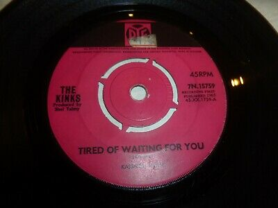 """THE KINKS - Come on now - 1966 UK 2-track 7"""" Vinyl Single"""