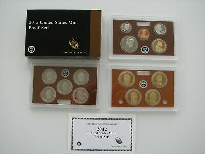 2012 United States Mint Proof Set – 14 Coins