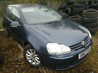 2007 Volkswagen Golf V 1.9 tdi. New clutch and flywheel. Spares or repairs.
