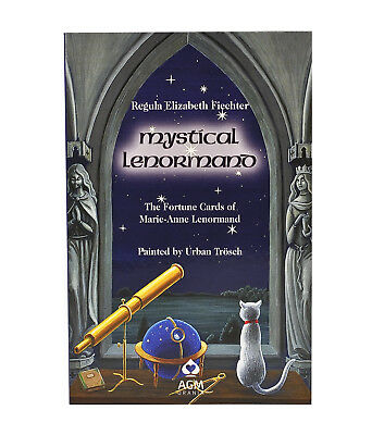 Mystical Lenormand Guide Book by Regula Elizabeth Fiechter
