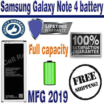 Replacement Samsung Galaxy Note 4 Battery 3220mAh EB-BN910BBE With Free Tools