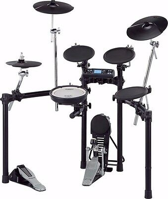 Roland TD4-S TD-4K V-Compact Electronic Drum Kit with MDS-4 Stand and Hardware