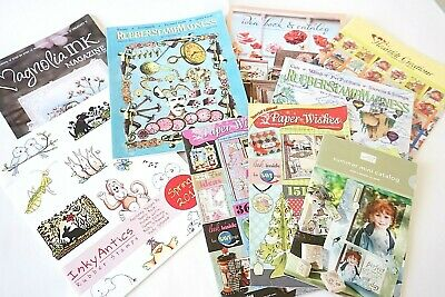 9 Rubber Stamping Scrapbooking Card Making CATALOGS IDEA BOOKS