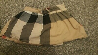 Burberry skirt excellent condition 12 months  Genuine from childs play rrp£125
