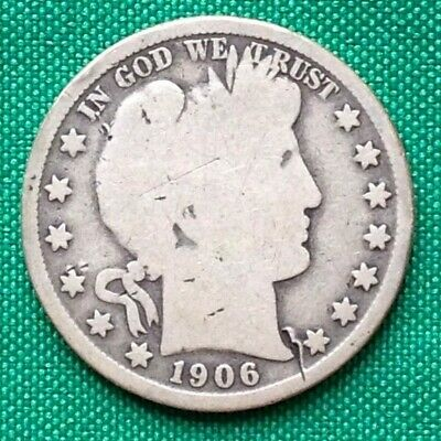 1906-O Barber Half Dollar Silver Coin ~ New Orleans Mint