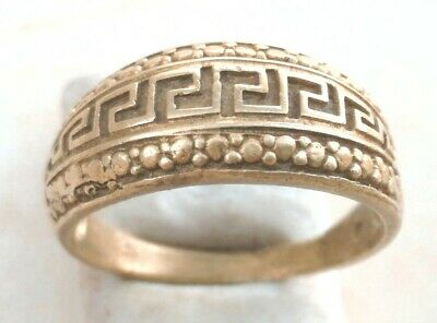 Rare Ancient Solid Ring Roman REAL Bronze Stunning Artifact Rare Type with Stone