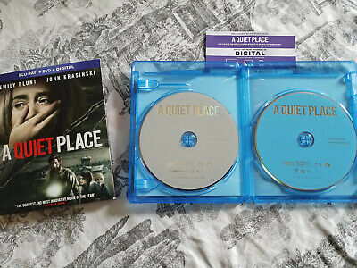 A Quiet Place (Blu-ray/DVD, 2018)