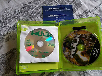 The Incredible Hulk (Blu-ray Disc, 2008, 2-Disc Set)