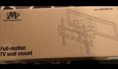 Mounting Dream Full Motion TV Wall Mounts Bracket Articulating Arms MD2380-24